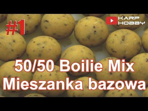 Przepisy na kulki proteinowe #1 - 50/50 Base Mix / Boilie Mix