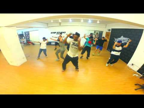 House dance class @Step Studio Taipei, TAIWAN By Meech'  de France for  the Ghôst Flow Movement