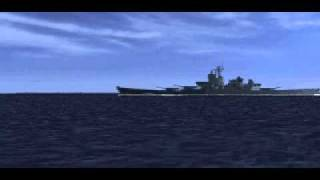 "Command & Conquer: Red Alert - Submarine Attacks Destroyer ""Sitting Duck"""