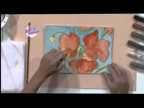 Diego Raimondo - Bienvenidas en HD -  Pinta un cuadro floral.
