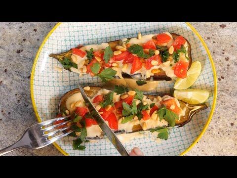super-easy-keto-baked-aubergine-(eggplant)-|-keto-vegan-|-lchf