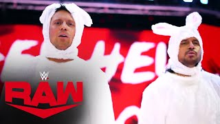 "The Miz & John Morrison present ""Hey Hey, Hop Hop"" World Premiere: Raw, Mar. 29, 2021"