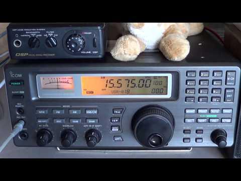 KBS World Radio South Korea Shortwave 15575 Khz 1300 UT