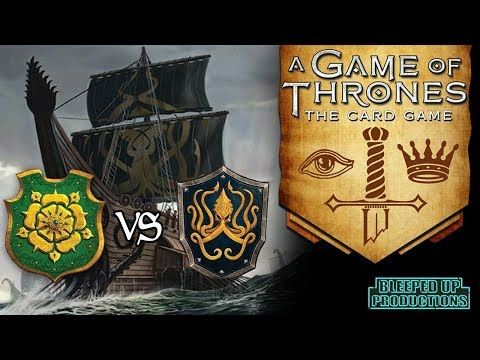 GAME OF THRONES LCG - #5 Tyrell VS Greyjoy