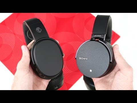 Skullcandy Crusher Wireless vs Sony MDR-XB950BT Headphones