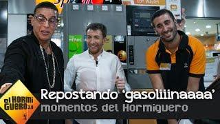 Daddy Yankee reposta un coche al son de 'Gasolina'- El Hormiguero 3.0