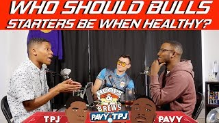 What Should Chicago Bulls Lineup Be When Healthy? | Hoops N Brews