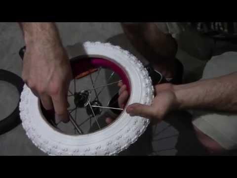 How To Change A Kids 12 Inch Bike Tire