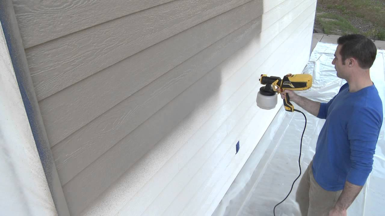 Hardy Board Siding >> Painting Siding - YouTube
