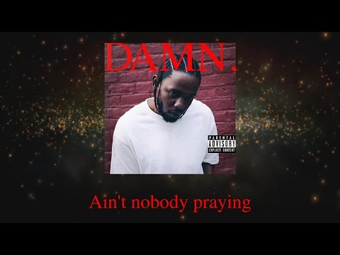Kendrick Lamar - FEEL. (Lyric Video) DAMN. Remix By Dro