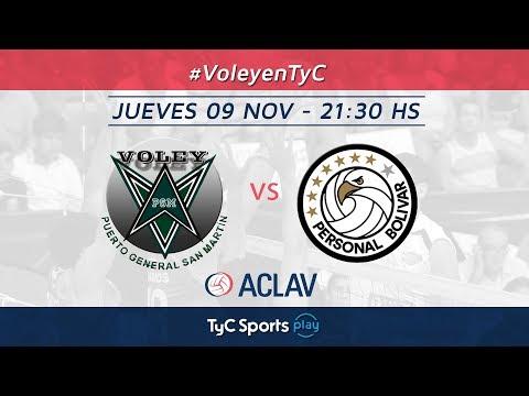 Liga Argentina: PSM Voley vs. Personal Bolívar l #VoleyEnTyC