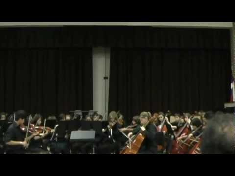 Viva La Vida by Coldplay performed by campbell middle school.wmv