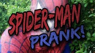 Spiderman prank