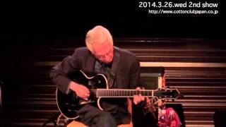 PAT MARTINO TRIO : LIVE @ COTTON CLUB JAPAN  (Mar.26,2014)