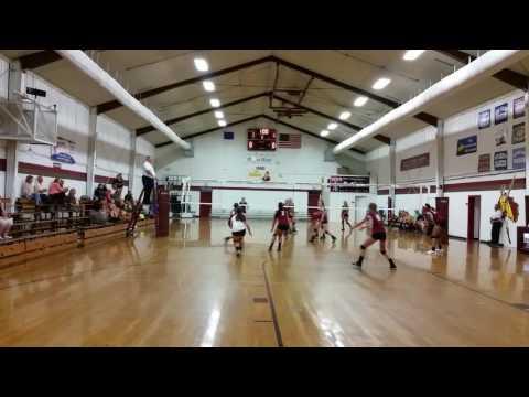 Abigail Adams Libero Position Highlights vs Kenston Forest School 091516