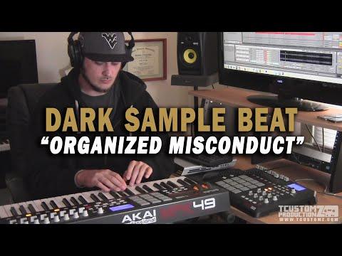 Dark Strings Guitar Sample Hip Hop Beat Making -