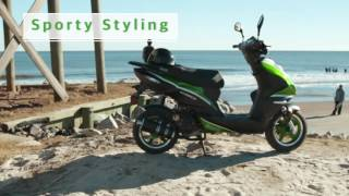 Bintelli Scorch 49cc and Scorch 150cc Scooter Review – Wholesale Scooters and Mopeds For Sale