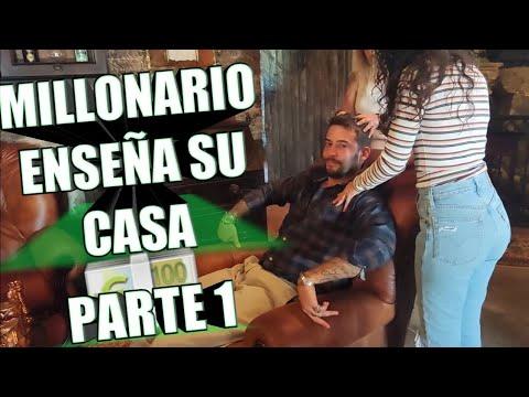 MILLONARIO PATRIARCAL ENSEÑA SU CASA PARTE 1/2