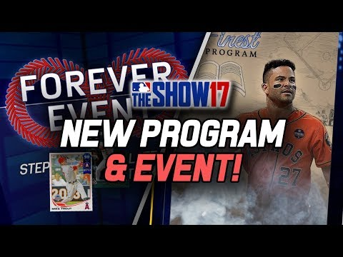 The Show's Finest Program! Forever Event! So Many New Diamonds! | MLB The Show 17 Diamond Dynasty