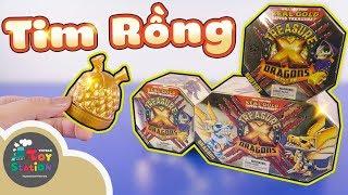 Đào kho báu Tim Rồng Treasure X series 2 ToyStation 390