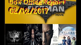 Lego Batman Tops the weekend, John Wick 2 and 50 shades Open Strong Box office Report 02/12/2017