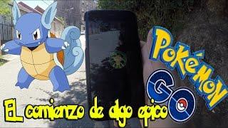 Nos VAMOS DE CAZA   POKEMON GO!! - El COMIENZO de algo INCREIBLE!!