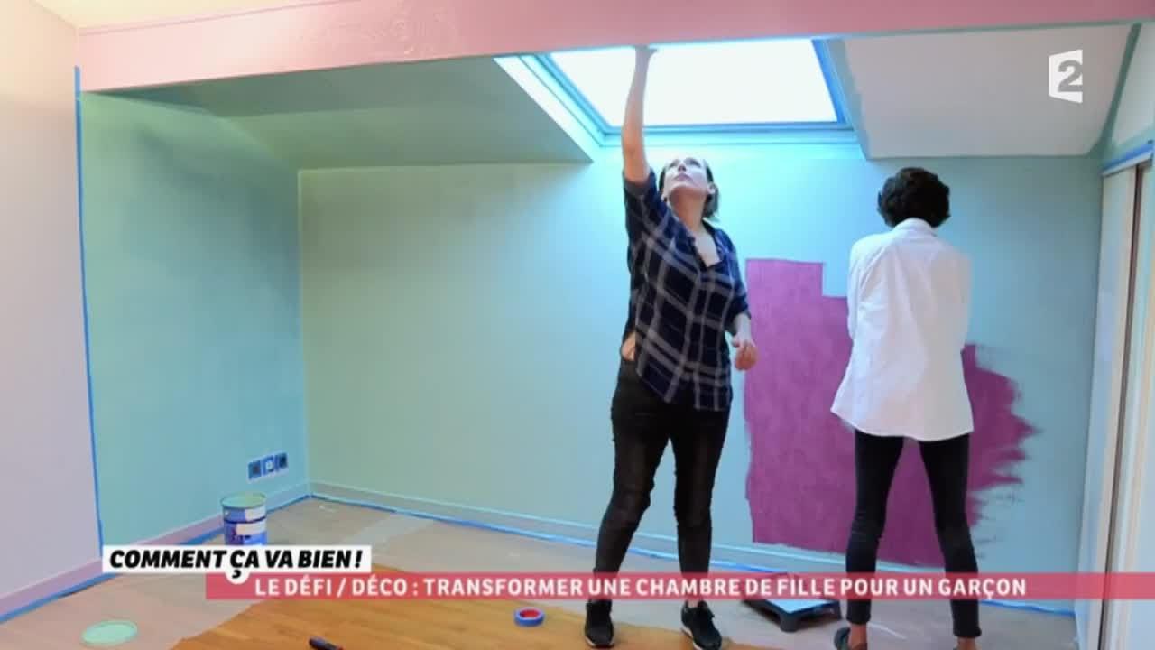 DCO Transformer une chambre de fille pour un garon CCVB  YouTube