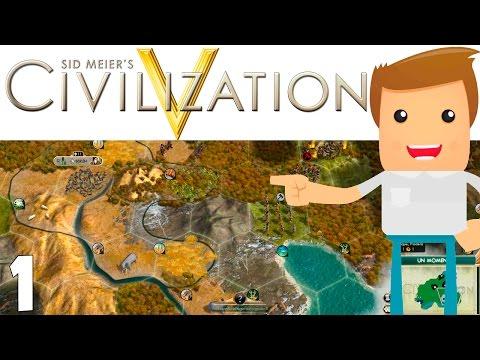 PRIMEROS PASOS! | Ep. 1 | Civilization V | Gameplay Español