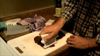 Preparing Wild Goose Breasts With A Jaccard