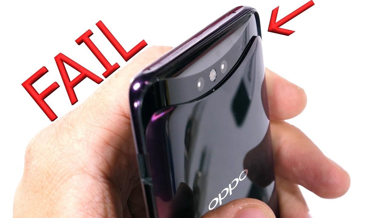 Oppo Find X - BEND TEST FAIL!!