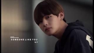 3D AUDIO BTS V 39 Someone Like You 39