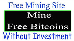 Free Mining Site - Mine Unlimited Free Bitcoins  Without Investment In Urdu-Hindi