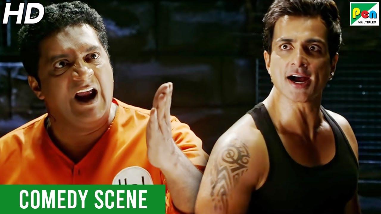 Prakash Raj & Sonu Sood Funny Jail Scene | Entertainment | Akshay Kumar, Tamannaah Bhatia