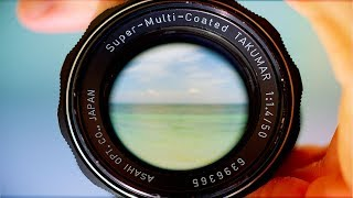 Pentax Takumar 50mm 1.4 Review  - The Best 50mm vintage lens?