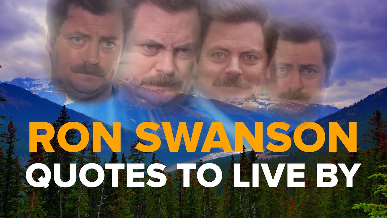 Ron Swanson Quotes Ron Swanson Quotes To Live By   YouTube Ron Swanson Quotes