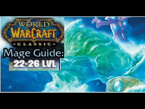 Classic WoW Solo AOE Frost Mage Leveling Guide 22-27