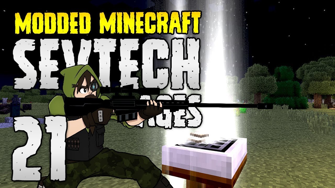 Minecraft SevTech: Ages | 21 | Incredible MOB Farm