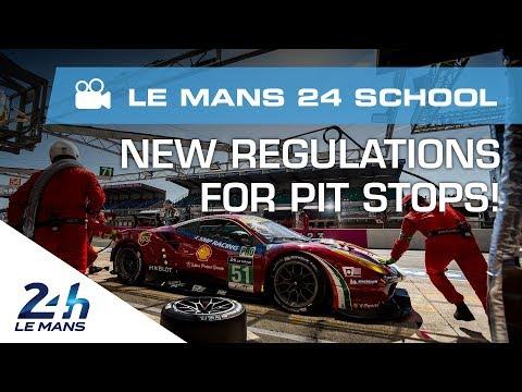 24 Heures du Mans 2018 - Focus sur le règlement : les arrêts aux stands