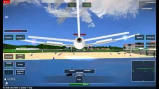 ROBLOX Avionic: BA 787 Back Landing Gear explodiert