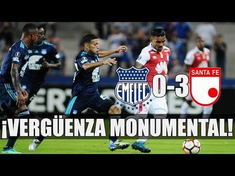 Emelec y su papelón en Copa Libertadores | Goles y Comentarios