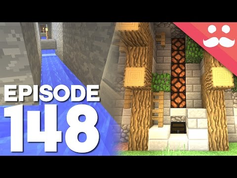 Hermitcraft 4: Episode 148 - MASS Item Transporter!