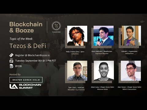 Tezos & Decentralized Finance (DeFi) | Blockchain & Booze