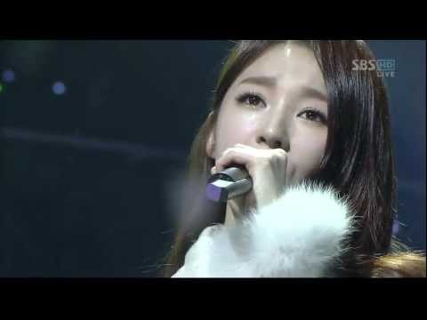 [120129] Davichi(다비치) & T-ara(티아라) - We Were In Love (HD)