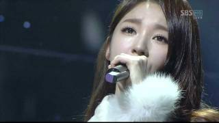 120129 Davichi 다비치 T Ara 티아라 We Were In Love