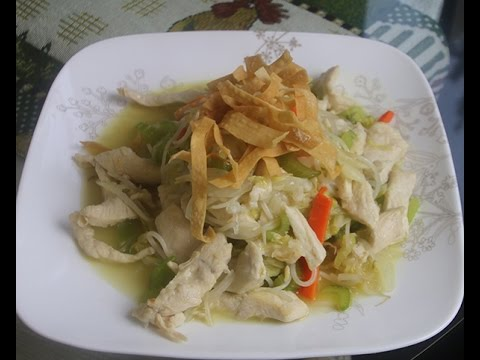 Chicken Chop Suey Recipe With Cabbage
