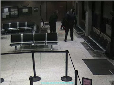 Video of Longview Police Department Lobby on night teen was fatally shot by officers