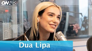 """Download lagu Dua Lipa Plays a Dating Game with Us and Explains """"Don't Start Now"""" 