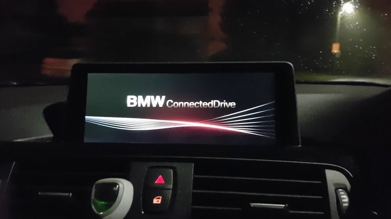 BMW F31 idrive Reboot No 2 in the morning