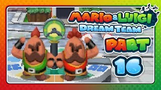 Mario & Luigi: Dream Team - Part 16: THE BEEF-OFF SHOWDOWN!
