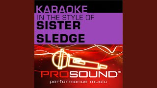 Prosound Karaoke Band We Are Family Karaoke Instrumental Track